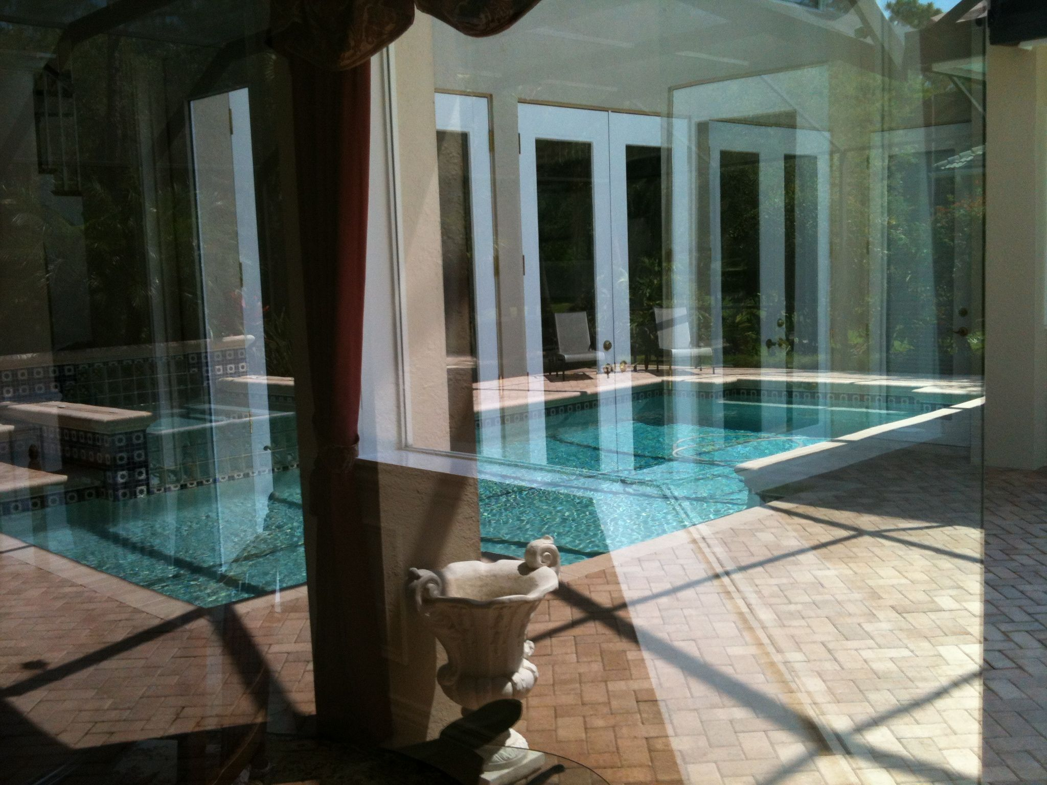 Thorough residential interior and exterior window cleaning